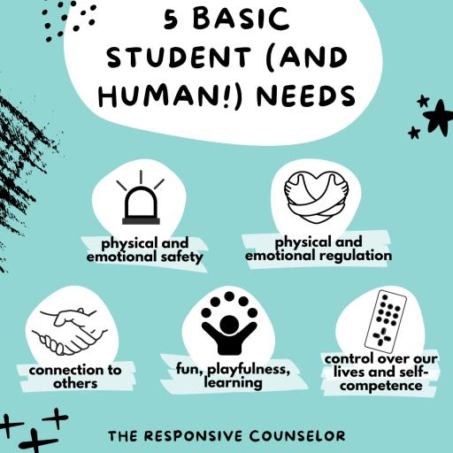 5 basic student needs