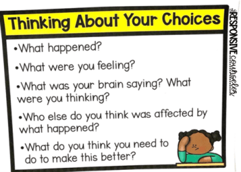 thinking about your choices slide