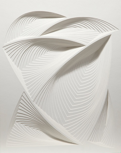 """White Free Form - In # 3"", 2 ply rising board - size : 20 1/2"" x 25"""