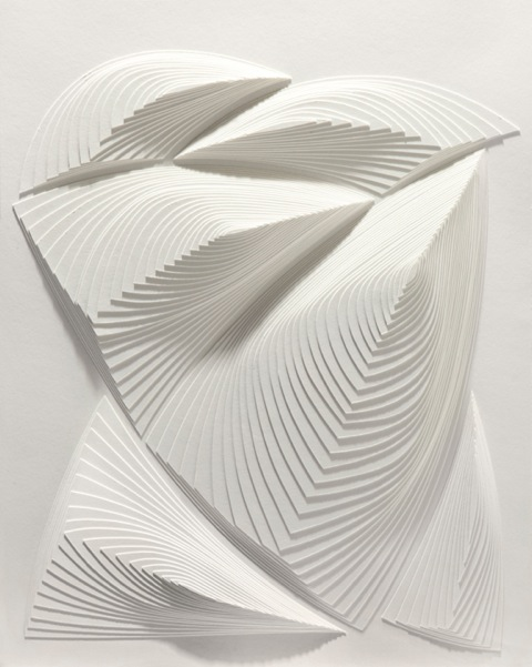 """""""White Free Form - Out # 3"""" 2 ply rising board - size : 20 1/2"""" x 25"""""""