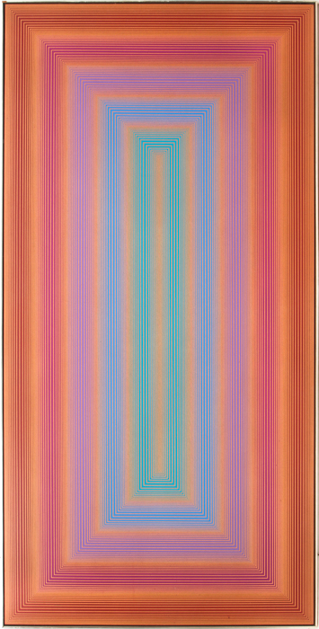 Lot 5: Richard Joseph Anuszkiewicz (b. 1930), 'Untitled (Portal Series)', 1971, Gray's Auctioneers LLC.