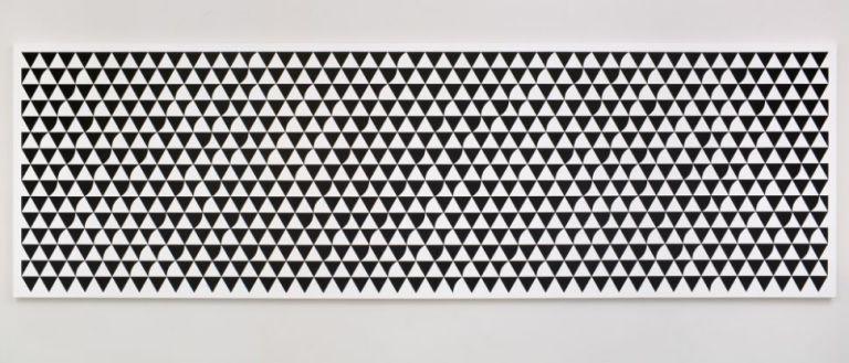 Bridget Riley, 'Cascando', 2015, acrylic on APF polyester support, 150 x 450 cm.