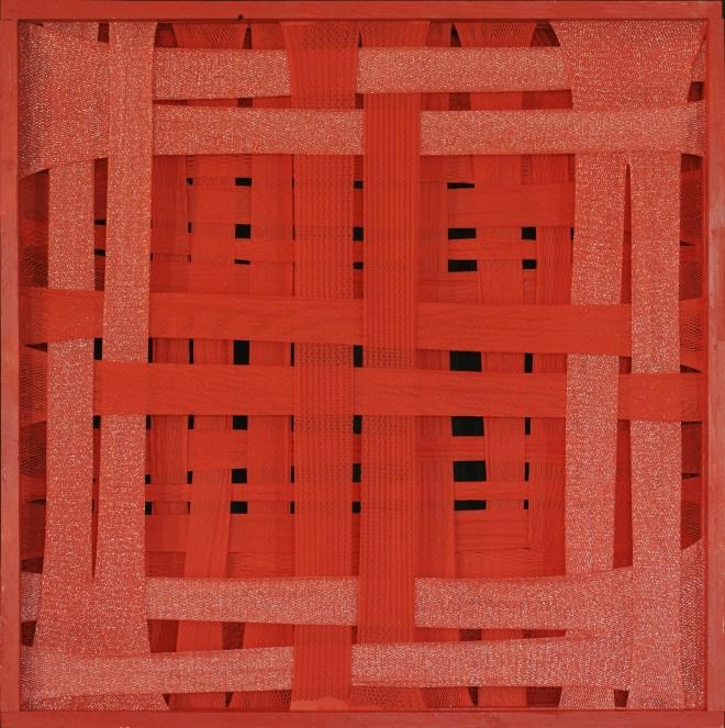Emilio Cavallini Red – Orderly Striped Attractor 1988