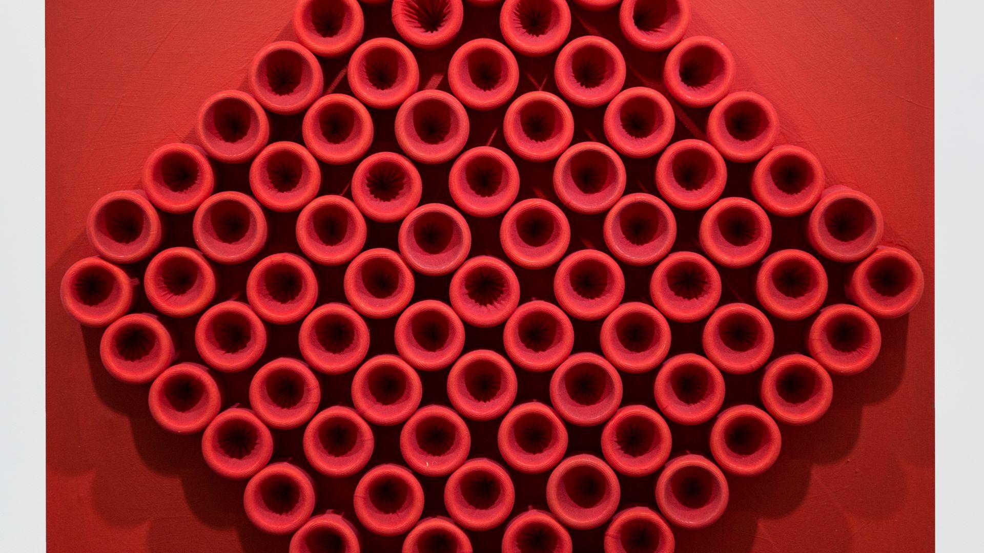 Emilio Cavallini Red - Rhombus 2010