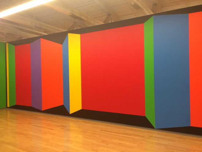 Sol LeWitt, Wall Drawing 1081, Planes of color.