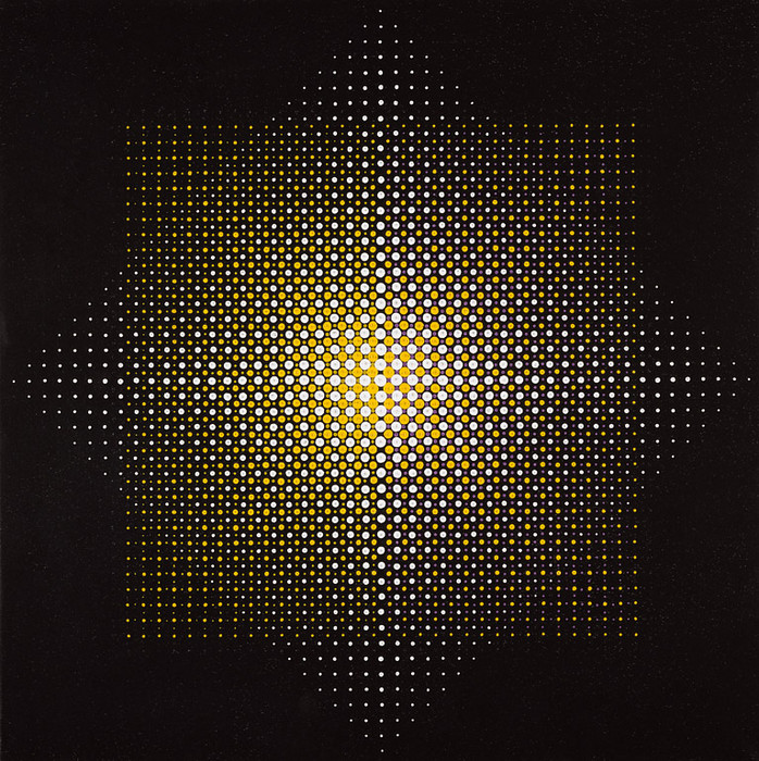 "Almir Mavignier, ""Two Squares"",1967"