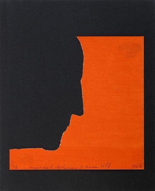 Marcel Duchamp Autopotrait del profile
