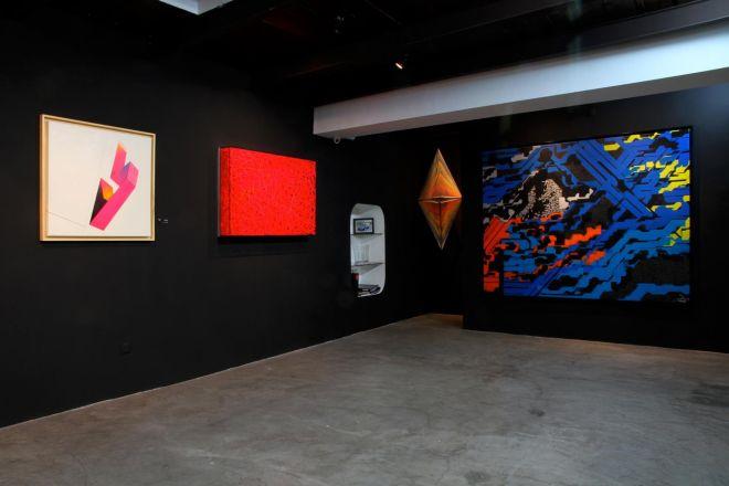Sensitive Eye – Op art and kinetic art exhibition at David Bloch Gallery Marrakech