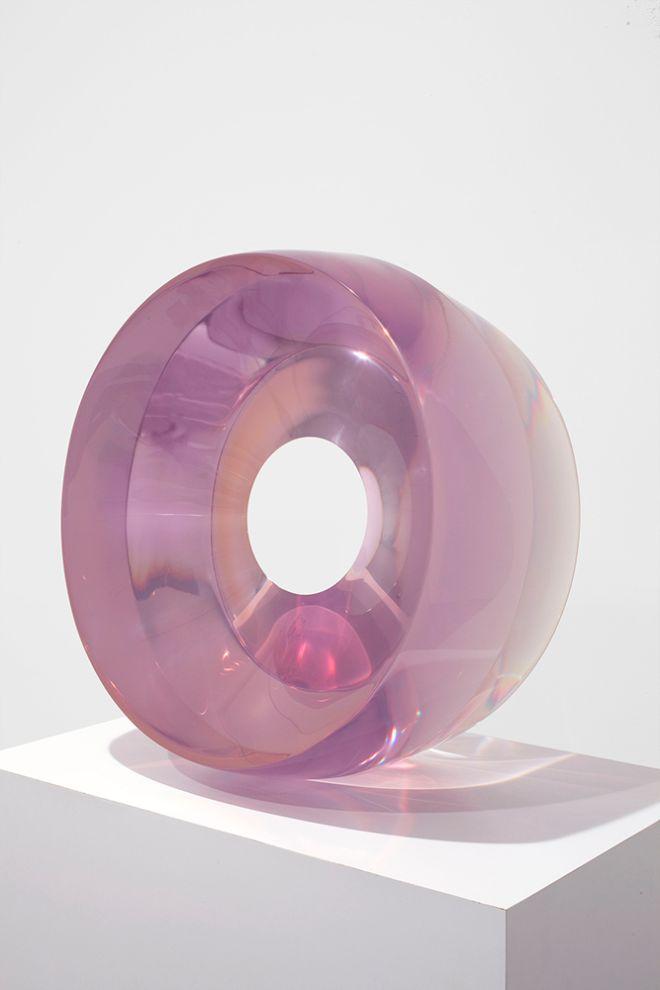 De Wain Valentine, Large Ring Light Violet, 1968