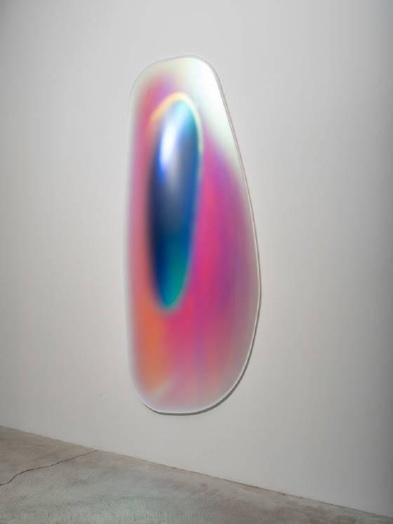 GISELA-COLÓN-Hyper-Ellipsoid-Iridescent-Blue-2014