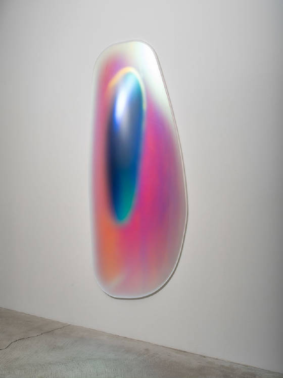 GISELA-COLÓN-Hyper-Ellipsoid-Iridescent-Blue-2014