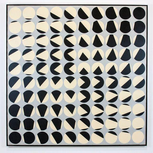 """HORACIO GARCIA-ROSSI """"Progression (Progresión)"""" , 1959-1960"""
