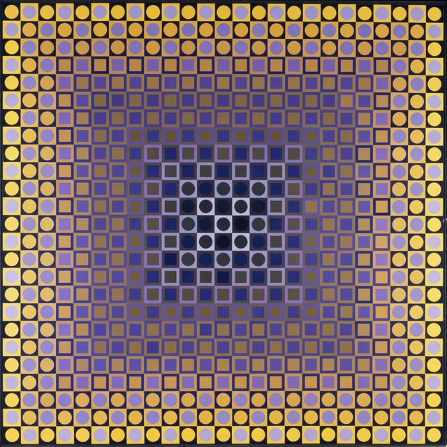 "Victor Vasarely ""Alom (Rêve)"", 1966"