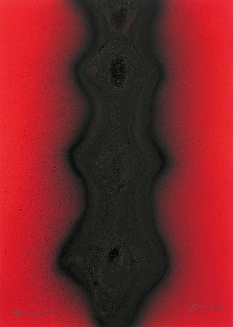 """Otto Piene, """"Fear Flower"""", 1967"""