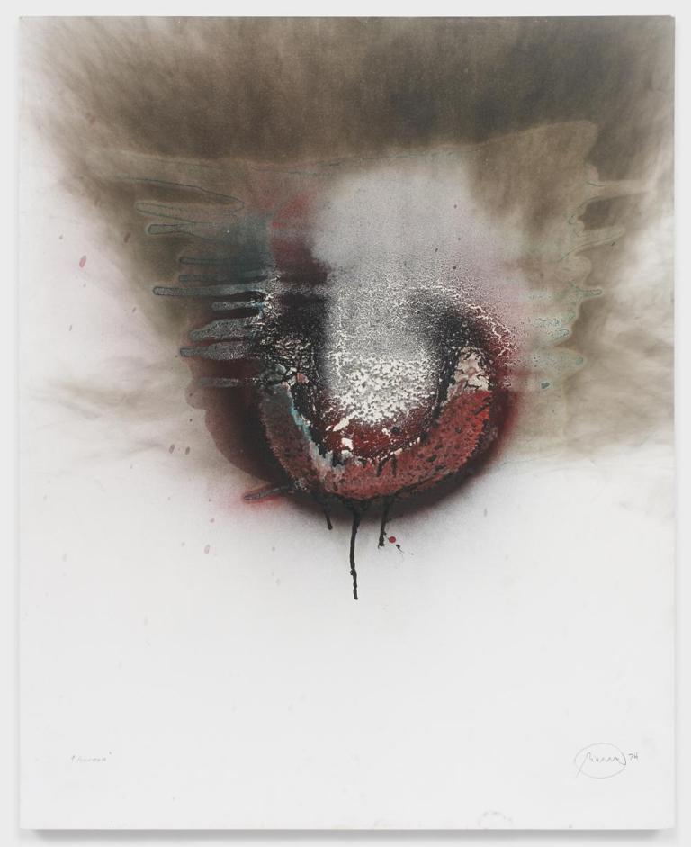 """Otto Piene, """"Aurora"""", 1974"""