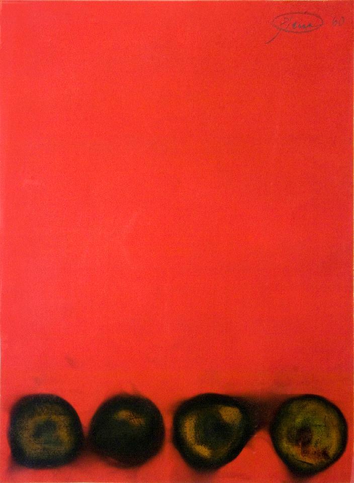 """Otto Piene, """"Untitled"""", 1960,"""