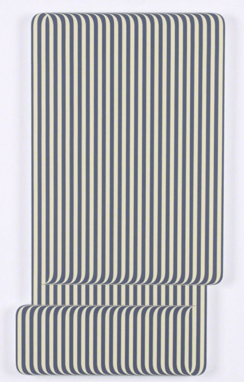 striped artwork by Terry Haggerty