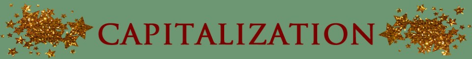capitalization copy