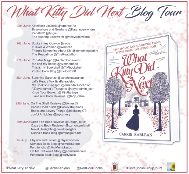 What Kitty Did Next Blog Tour Schedule