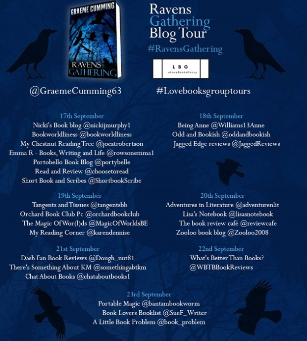Ravens Gathering | Blog Tour | Book Review