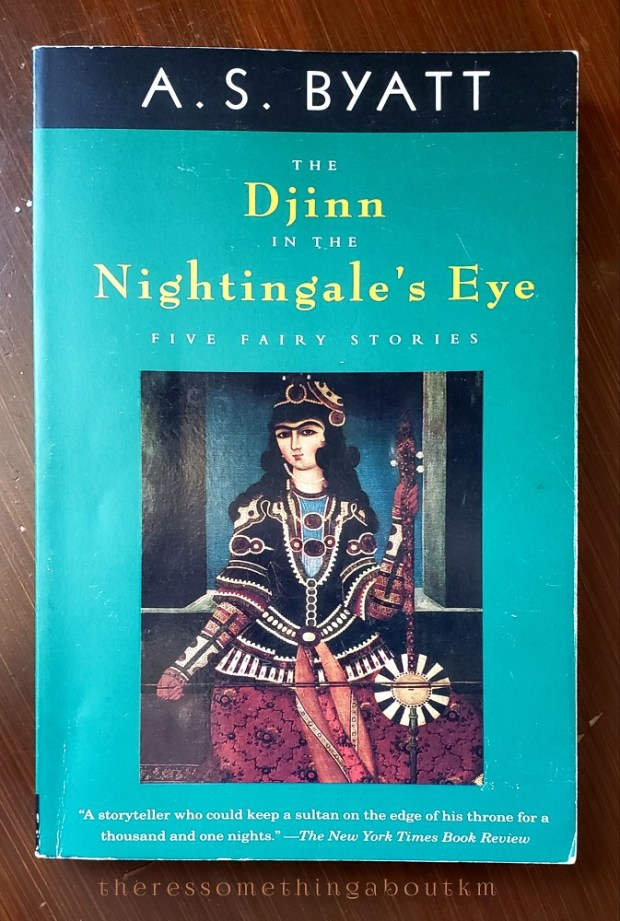 The Djinn in the Nightingale's Eye | Book Cover