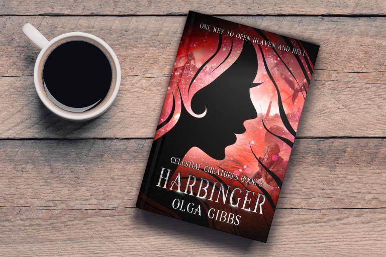 Harbinger | Olga Gibbs | Book Cover