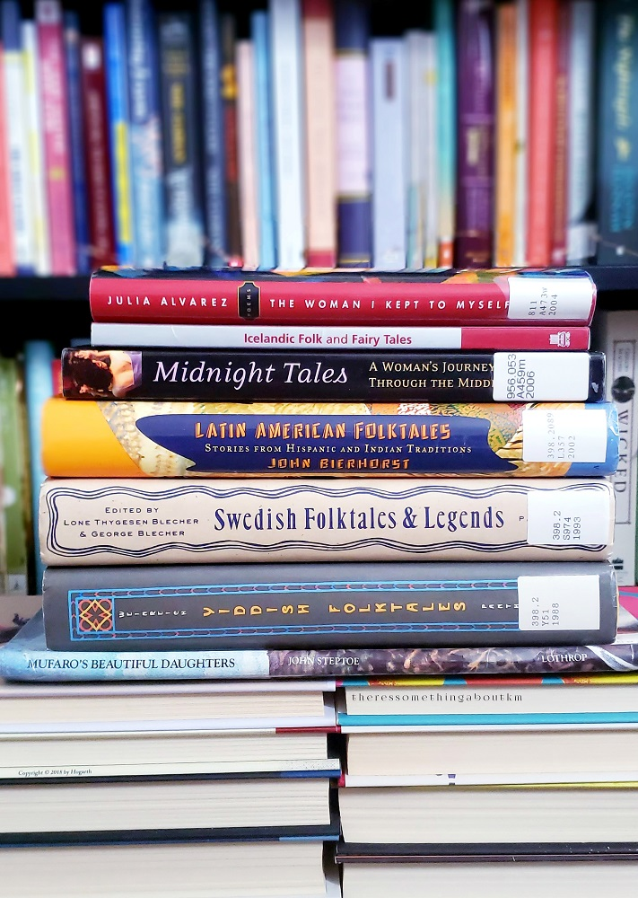 Library Book Stack | July/August 2020