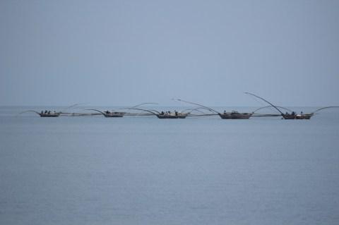 Fishermen in Gisenyi