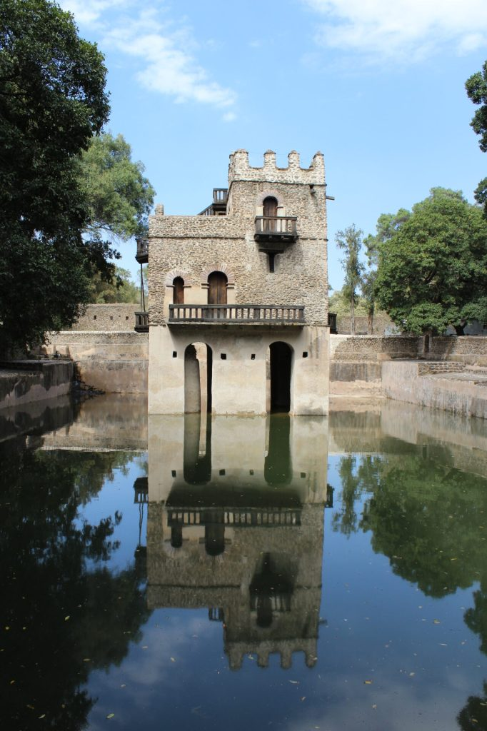 Fasilides' Bath in Gondar