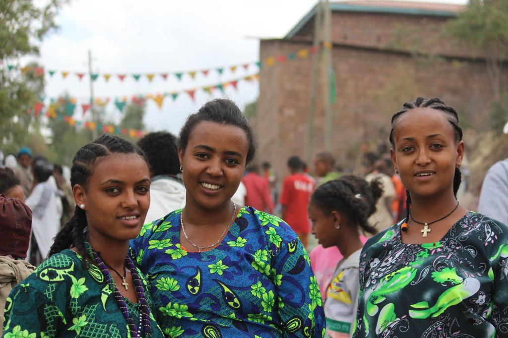 Girls in the Lalibela Market