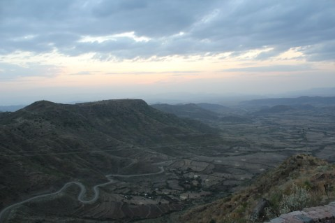 Sunset from Ben Abeba