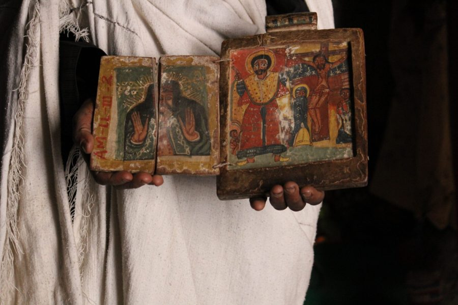Holy Book at Asheton Maryam