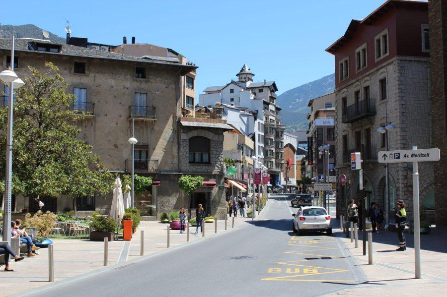 Andorra La Vella Main Street