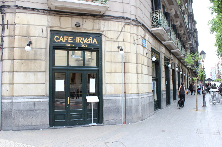 Cafe Iruña in Bilbao