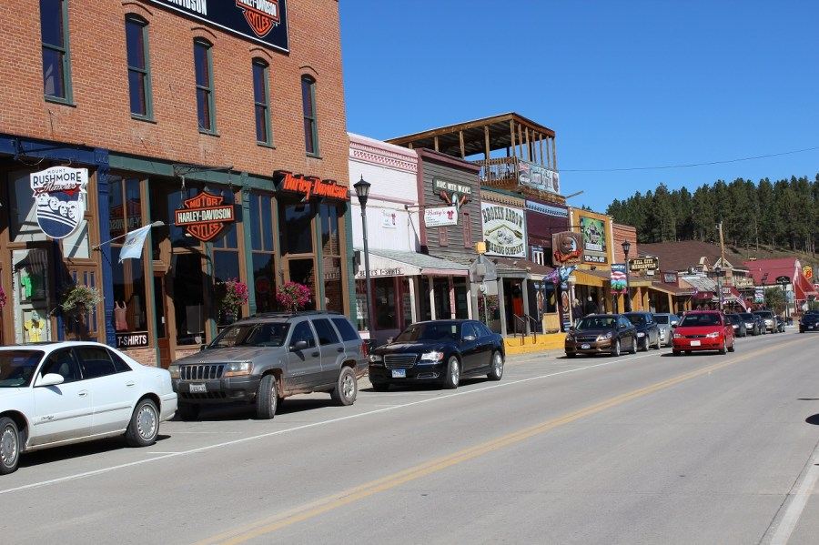 Hill City Main Street