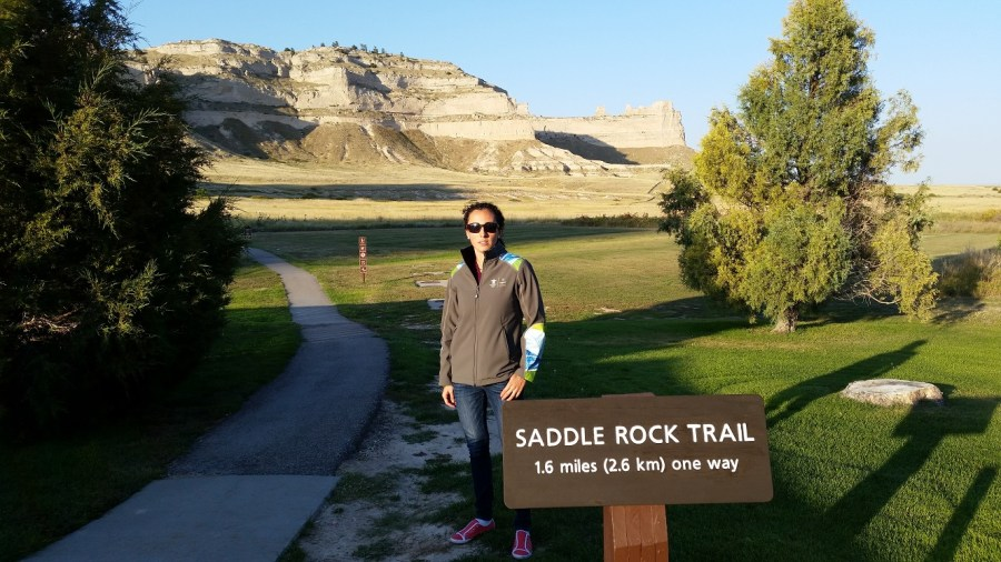 Saddlerock Trail in Scottsbluff