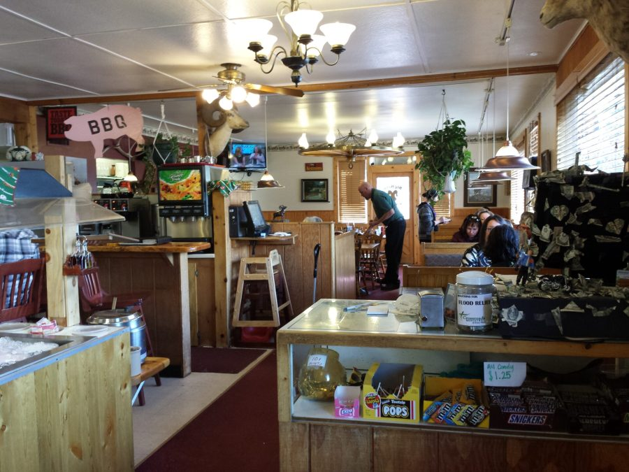 The Big Horn Inn - a great breakfast!