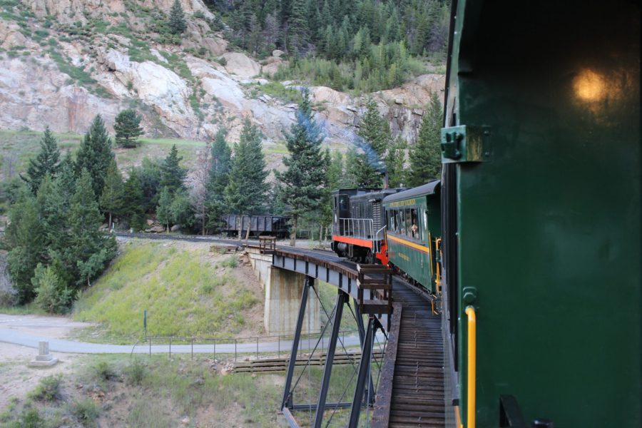 Devil's Gate Station - from the Georgetown Loop Railroad car