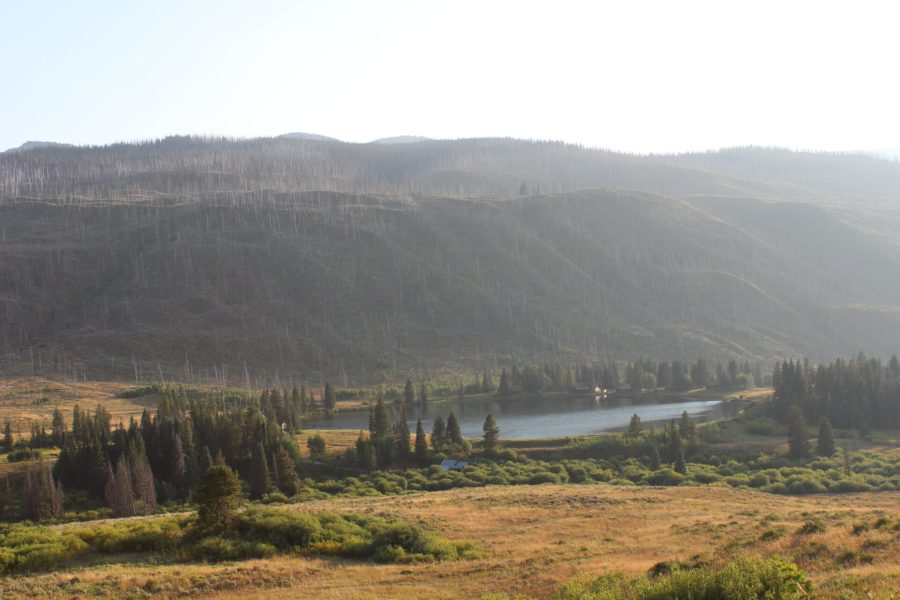 Drive to Trappers Lake on the Flat Tops Scenic Highway