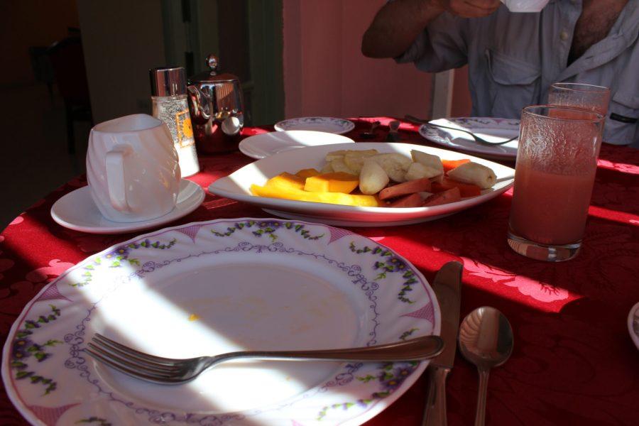 Breakfast at Casa Castellon