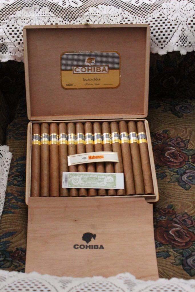 Cohiba cigars in Havana