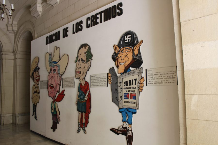 Museum of the Revolution - Wall of Cretins