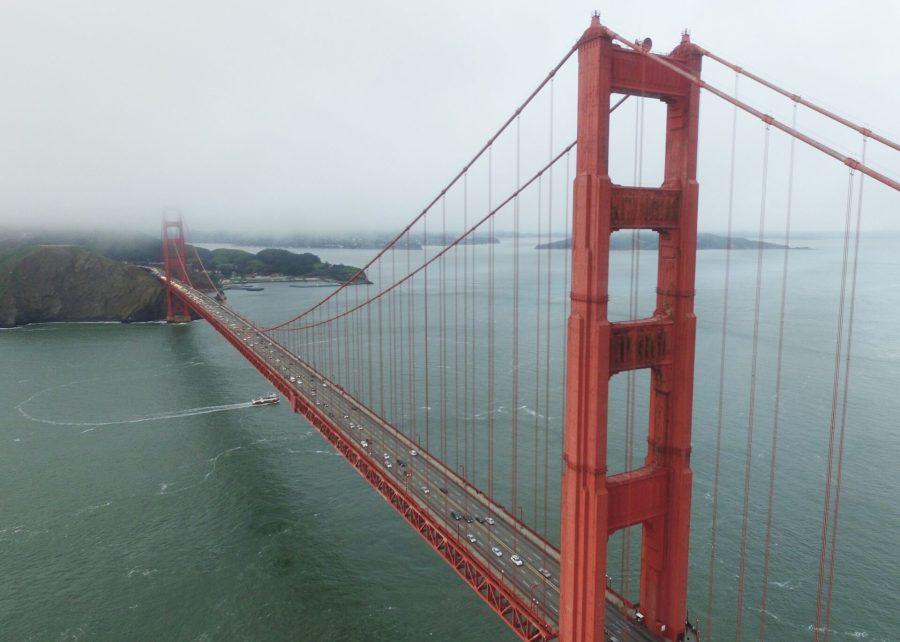 Exploring San Francisco by drone