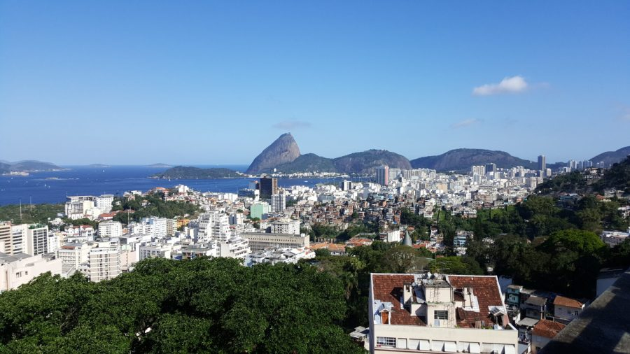 Guanabara Bay from my apartment