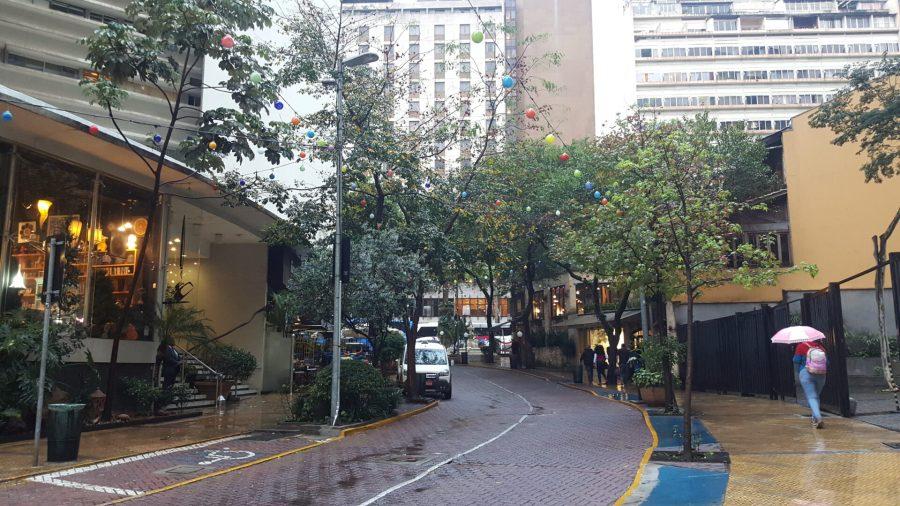 São Paulo in a day - Rua Avanhadava