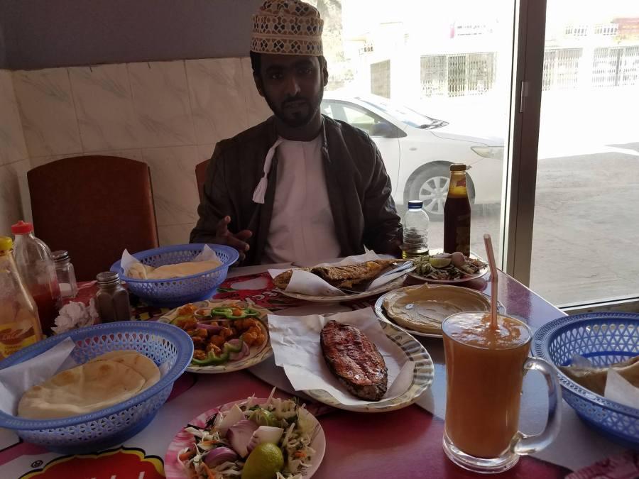 Dhalkut feast south of Salalah