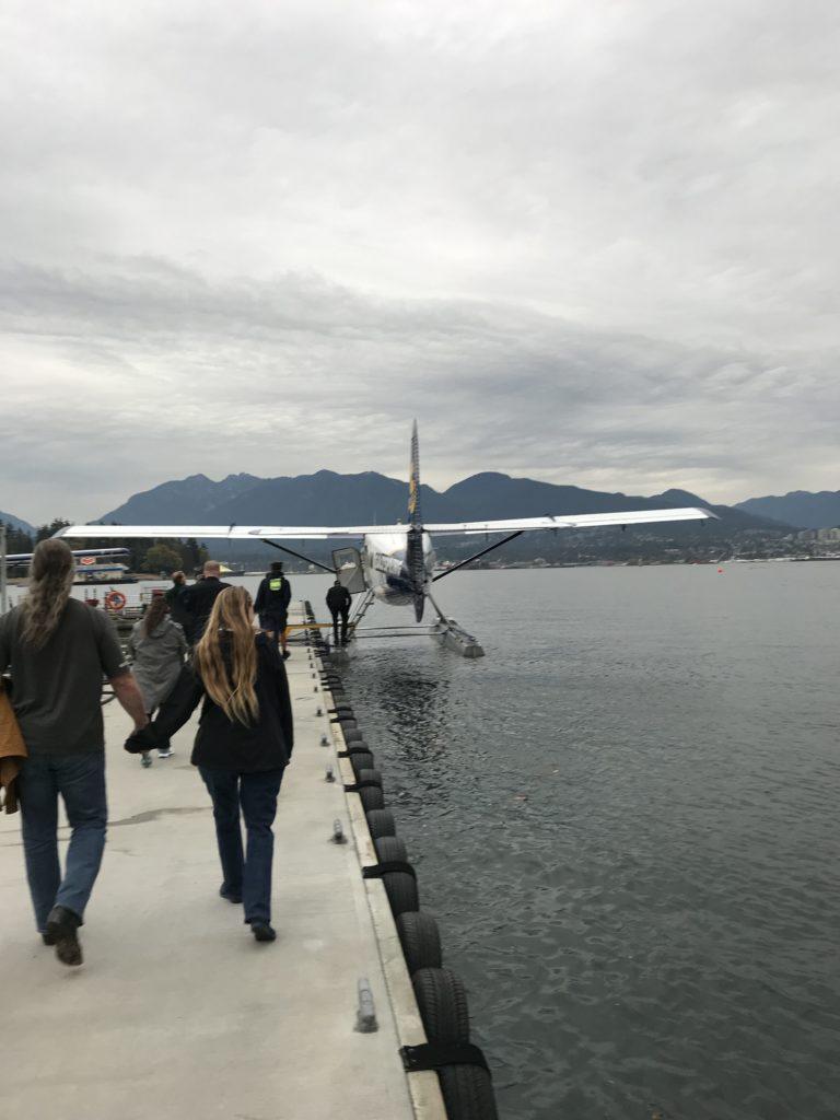 Sea plane to Victoria