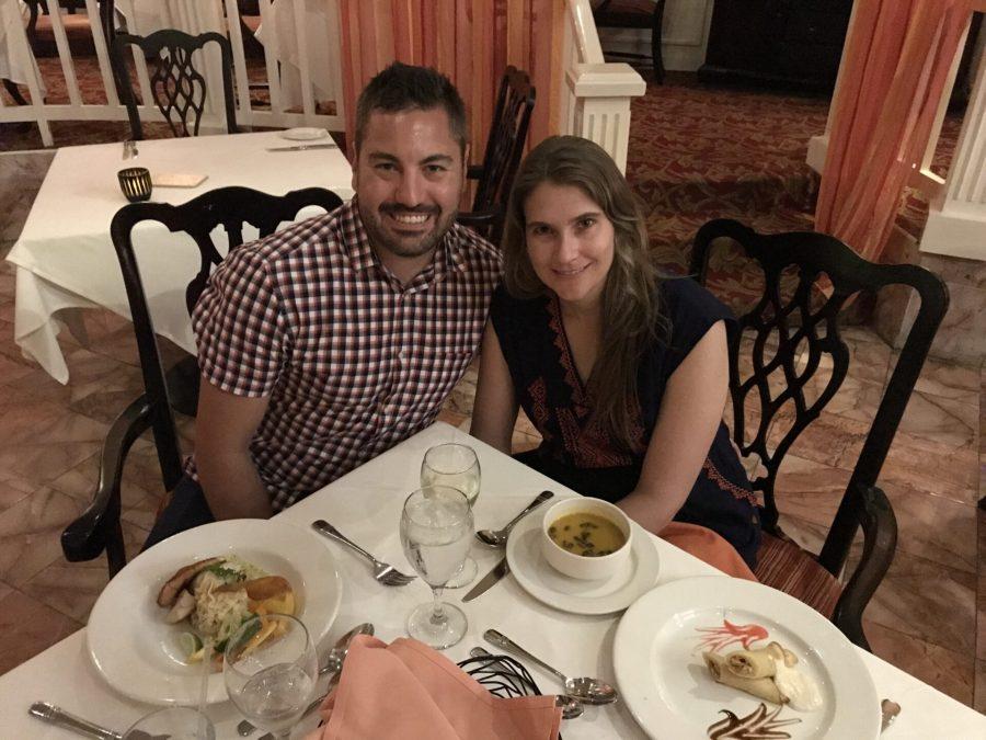Formal dinner at Platinum