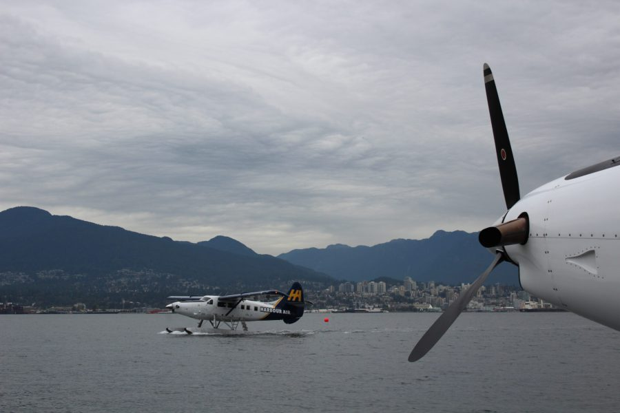 Seaplaning to our Victoria whale watch adventure
