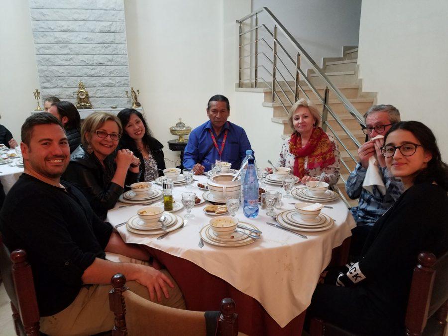 Family dinner in Fez